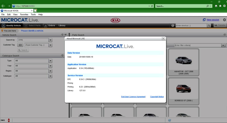 Kia Microcat V6 2019 Parts Catalog Download