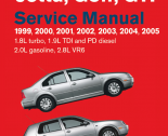 repair manual Volkswagen Jetta, Golf, GTI Service Manual PDF