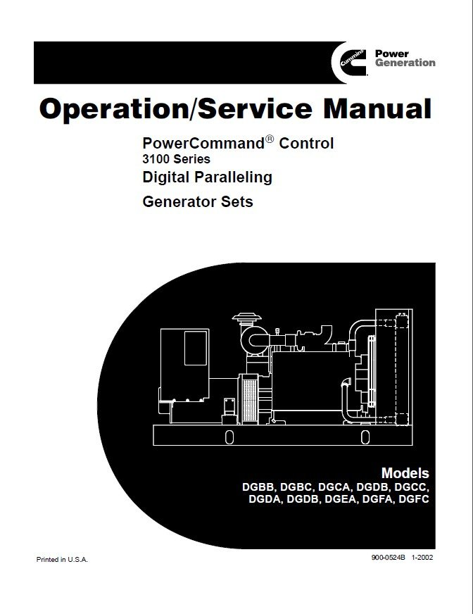 cummins powercommand control digital generator service manual rh epcatalogs com Cummins Engine Manual 5.9 Cummins Manual