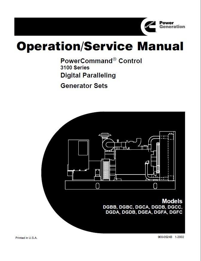 cummins powercommand control digital generator service manual rh epcatalogs com Parts Manual Parts Manual