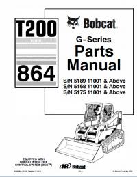 bobcat t200 turbo 864 g series parts manual pdf spare parts catalog trucks buses catalogs