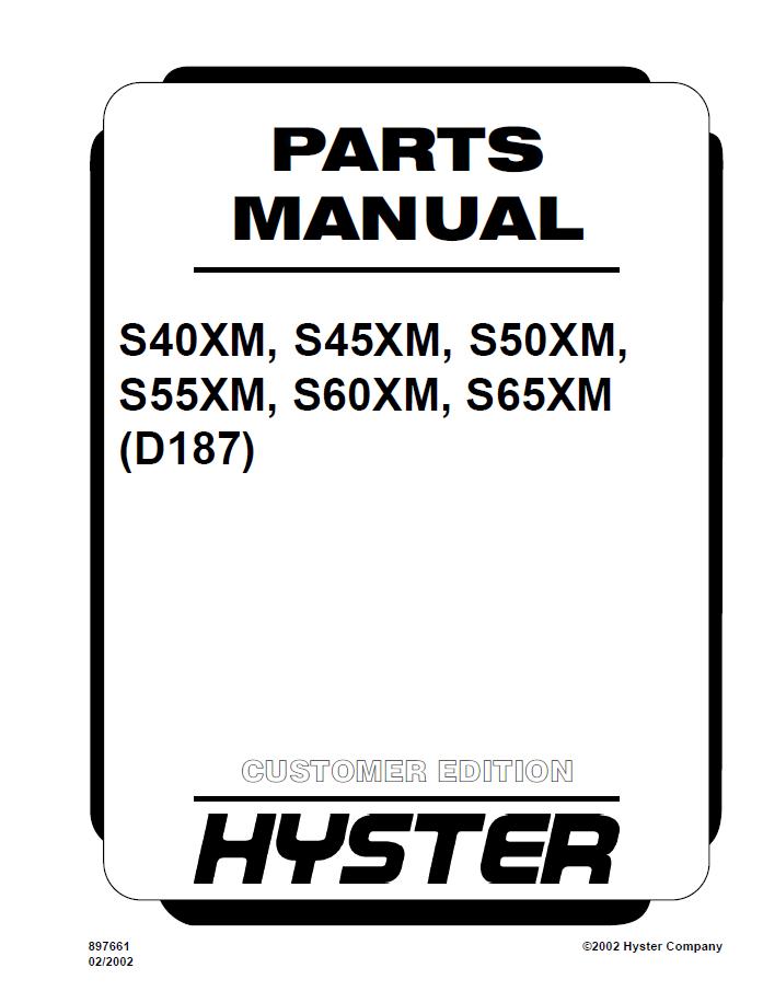 Hyster S50xm Wiring Diagram - 4.12.beyonddogs.nl • on