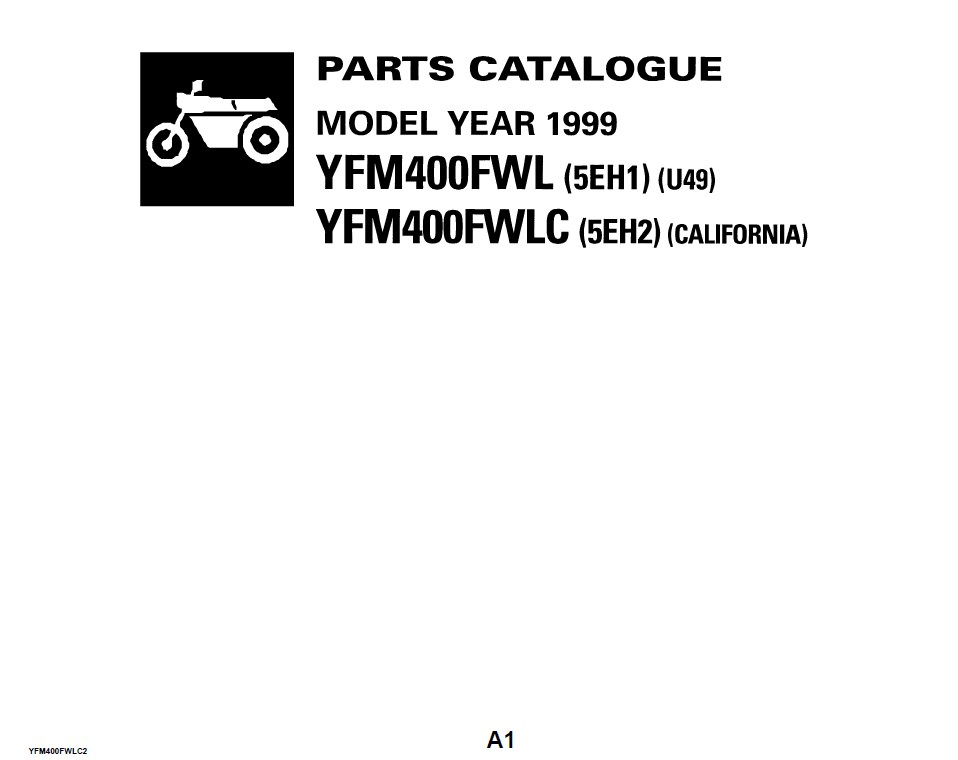 yamaha spare parts catalogue