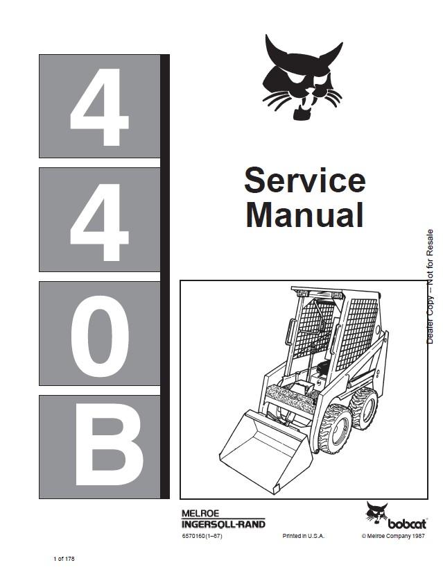 bobcat 440b loader service manual pdf bobcat 440b loader service manual pdf, repair manual, forklift bobcat 440b wiring diagram at n-0.co