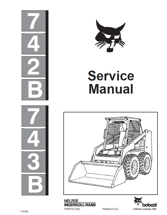 bobcat 743b parts diagram pdf  diagram  wiring diagram images