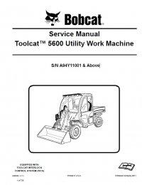bobcat 5600 toolcat utility work machine service manual pdf. Black Bedroom Furniture Sets. Home Design Ideas