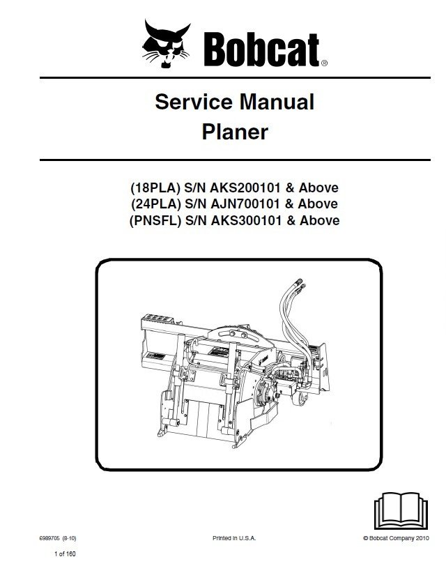 bobcat 18pla 24pla pnsfl planers service manual pdf. Black Bedroom Furniture Sets. Home Design Ideas