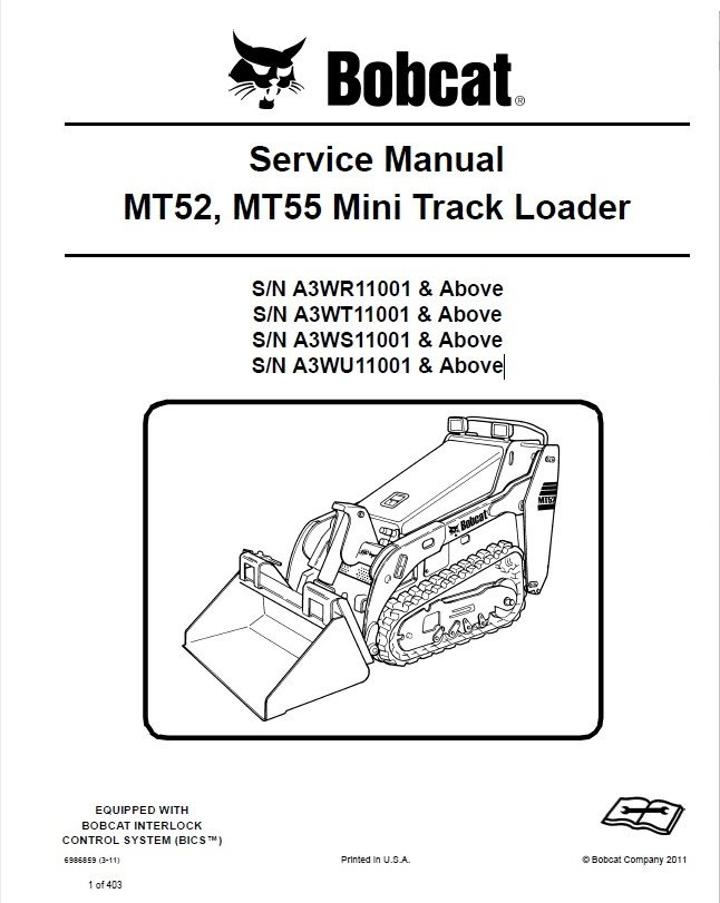 bobcat mt52 mt55 mini track loader service manual pdf. Black Bedroom Furniture Sets. Home Design Ideas