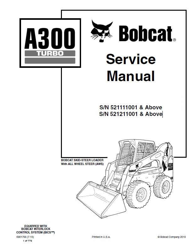 a300 bobcat wiring diagram
