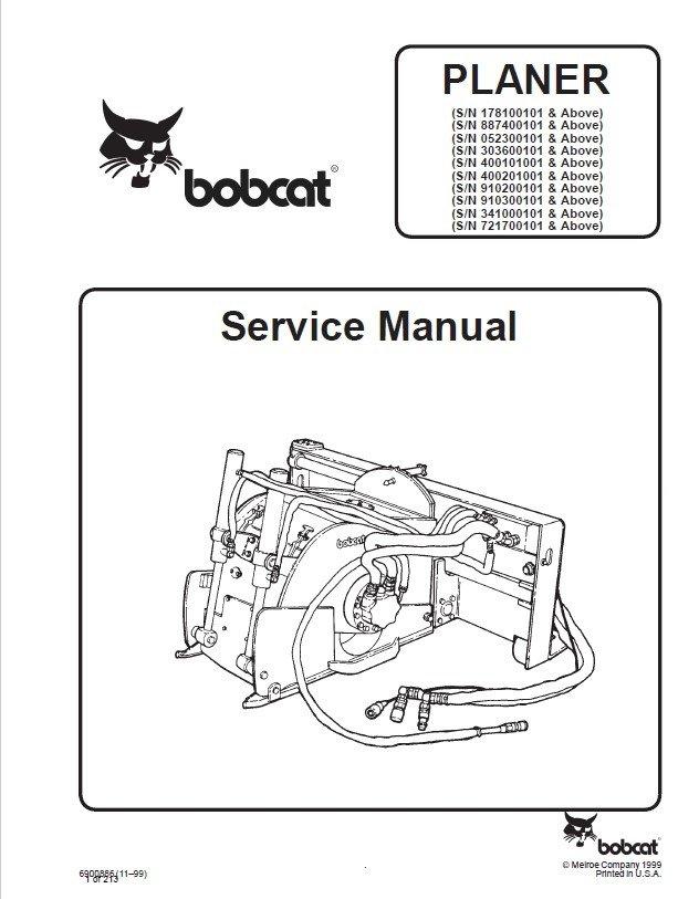 bobcat planer service manual pdf. Black Bedroom Furniture Sets. Home Design Ideas