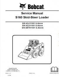 bobcat s160 skid steer loader service manual pdf. Black Bedroom Furniture Sets. Home Design Ideas