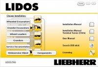 repair manual Liebherr Lidos Parts and Service Documentation Offline 08/2017