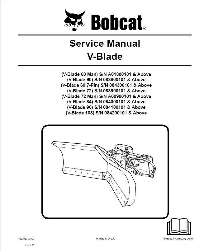 bobcat 60 72 84 96 108 inch v blade service manual pdf. Black Bedroom Furniture Sets. Home Design Ideas