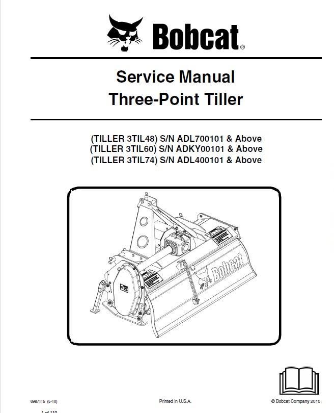 bobcat 3til48 60 74 three point tiller service manual pdf. Black Bedroom Furniture Sets. Home Design Ideas