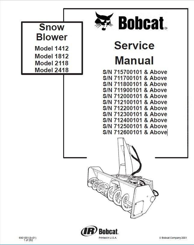 bobcat 1412 1812 2118 2418 snowblower service manual pdf bobcat snowblower wisconsin engine repair manual bobcat 1412, 1812, 2118, 2418 snow blowers service manual pdf