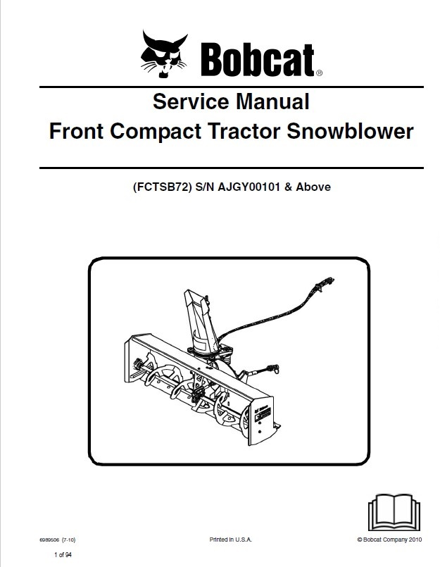 bobcat snowblower wiring diagrams bobcat 773 parts Bobcat Electrical Harness Chevy Wiring Harness