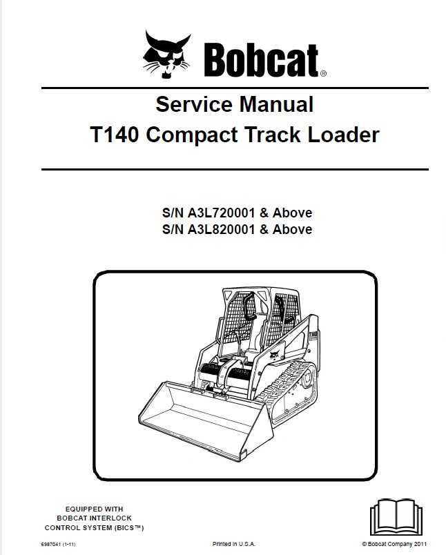 bobcat t140 compact track loader service manual pdf. Black Bedroom Furniture Sets. Home Design Ideas