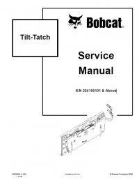 bobcat tilt tatch service manual pdf. Black Bedroom Furniture Sets. Home Design Ideas
