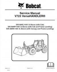 bobcat v723 versahandler service manual pdf. Black Bedroom Furniture Sets. Home Design Ideas