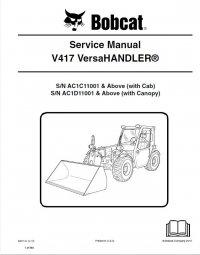 bobcat v417 versahandler service manual pdf. Black Bedroom Furniture Sets. Home Design Ideas