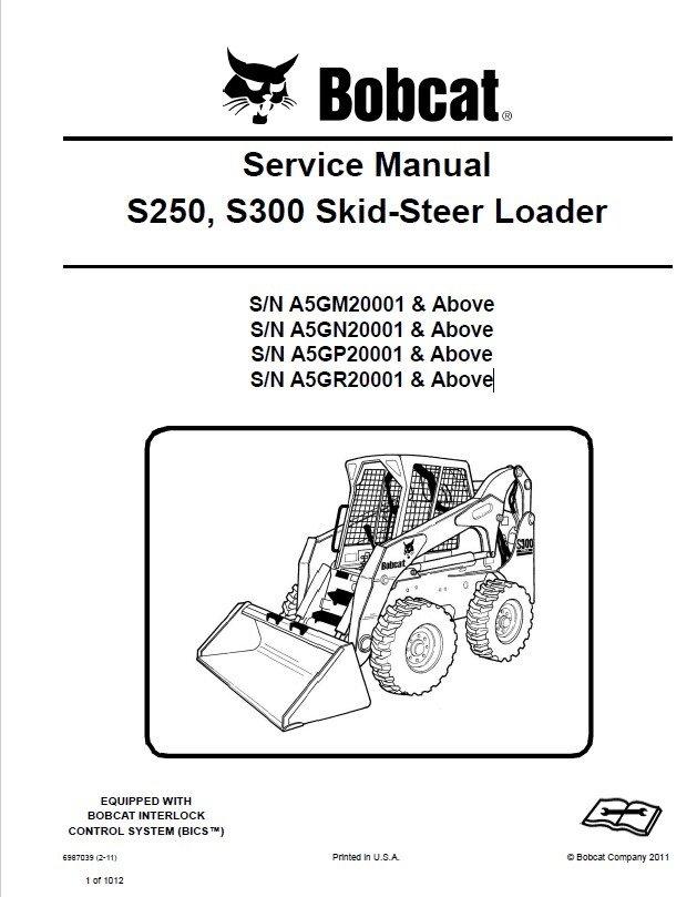 Bobcat S250  S300 Skid