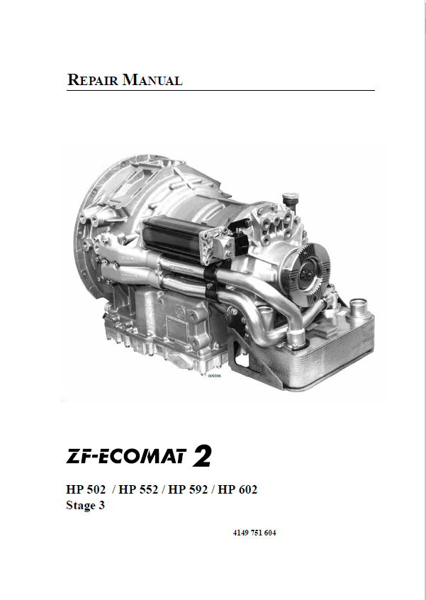 zf 5 speed transmission repair manual