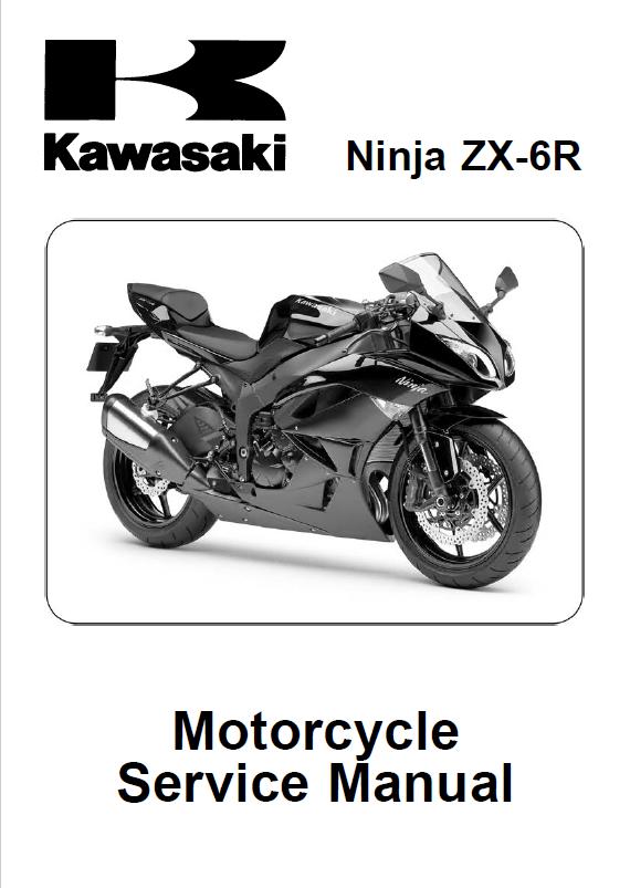 kawasaki ninja zx 6r motorcycle service manual pdf rh epcatalogs com