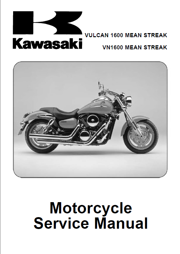 kawasaki vulcan 1600 vn 1600 motorcycle service manual pdf. Black Bedroom Furniture Sets. Home Design Ideas