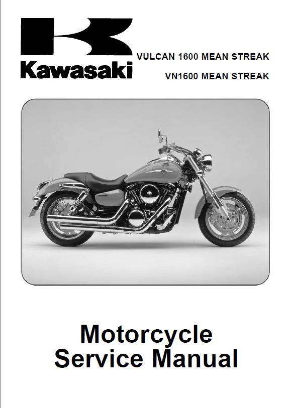 Kawasaki Vulcan 1600  Vn 1600 Motorcycle Service Manual Pdf