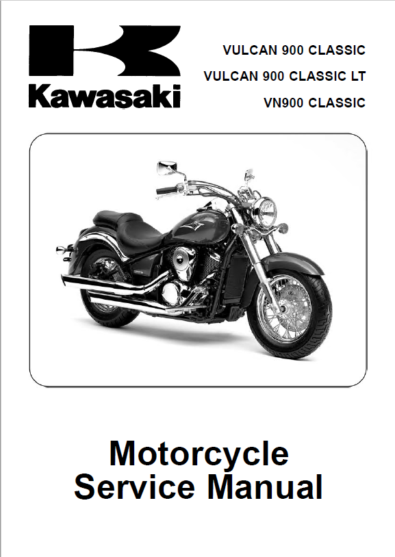 kawasaki vulcan 900 classic lt vn 900 service manual pdf. Black Bedroom Furniture Sets. Home Design Ideas