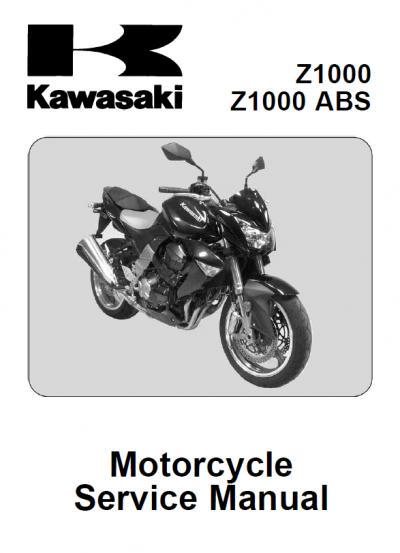 Kawasaki Z1000, Z1000 ABS Motorcycle Service Manual PDF kawasaki ignition switch resistor EPCATALOGS