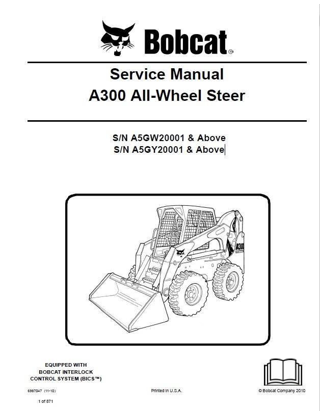 bobcat a300 all wheel steer service manual pdf. Black Bedroom Furniture Sets. Home Design Ideas