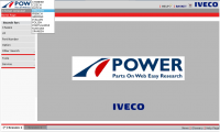 spare parts catalog Iveco Power for Trucks and Buses Parts Catalog 2017