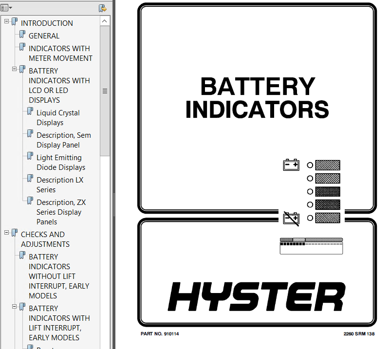 hyster class 1 a203 electric motor rider trucks pdf manual download