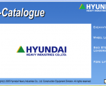 spare parts catalog Hyundai Heavy Industries e-Catalogue 2015 (Hyundai Robex EPC 2015)
