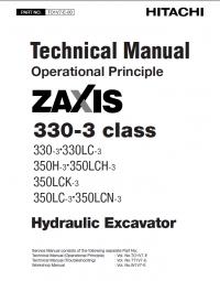 repair manual Hitachi Zaxis 330-3 class Hydraulic Excavator PDF Service Manuals