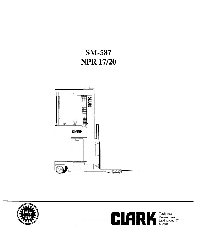 clark service manual npr 17 npr 20 clark np 30 forklift wiring diagram wiring wiring diagram schematic  at gsmportal.co