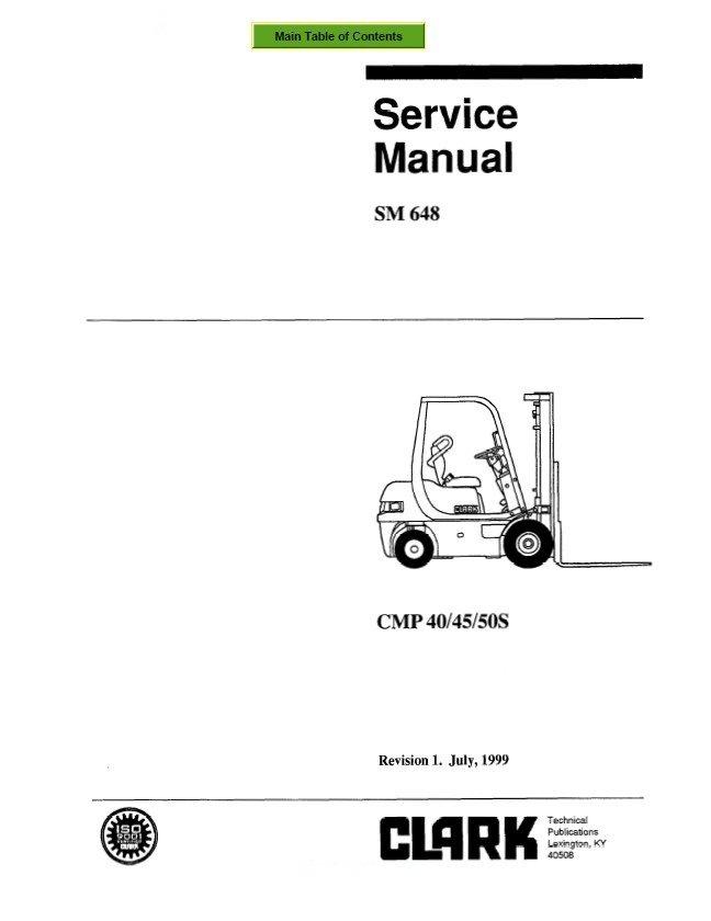 clark cmp 40 45 50s sm648 service manual pdf rh epcatalogs com