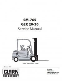 Clark Nst 30 Repair Manual