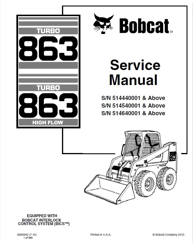 bobcat owners manual