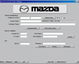 spare parts catalog Mazda Europe LHD 2012