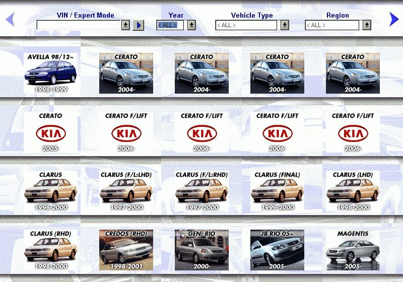 Kia Mcat Spare Parts Catalog Download