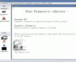 Diagnostic Software Hino Diagnostic Explorer v3.0