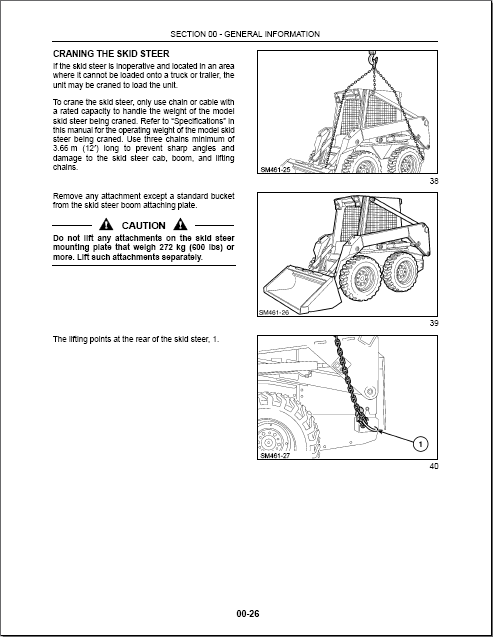 new skid steer loaders repair manual trucks buses repair