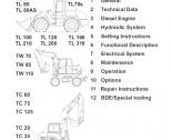 repair manual Terex Wheel Loaders TL, SKL, TW, TC Series Service Manual PDF
