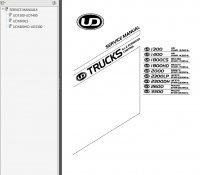 repair manual Nissan UD Trucks 4x2 Forward Control 2005-2007 Service Manual PDF