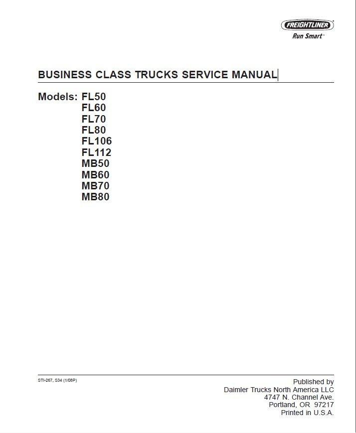 freightliner business class trucks service manual pdf rh epcatalogs com Freightliner FL70 Starter Relay Freightliner FL70 Fuse Box Diagram