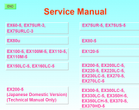 repair manual Hitachi Hydraulic Excavators Workshop Service Manual