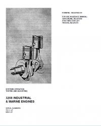 repair manual Caterpillar 3208 Industrial & Marine Engines PDF Manuals