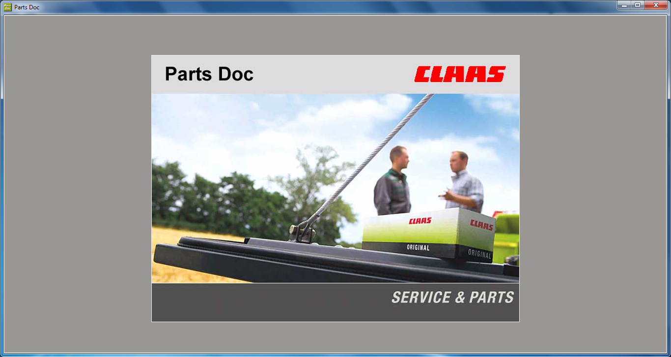 Claas Parts DOC v 2 0  (Agricultural)